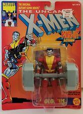 ToyBiz 1993 Marvel X-Men COLOSSUS Power-Lift Action W/Trading Card