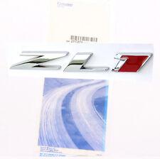 """1x Genuine Camaro """"ZL1"""" emblem badge GM letter Side Door Rear Chevrolet W OEM"""
