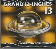 Grand 12-Inches, Vol. 13 by Ben Liebrand (CD, Jun-2015, 4 Discs) New Sealed