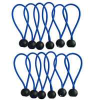 10x Durable Tent Canopy Tie Down Cord Awning Wire Stretch Shock Bungee Strap