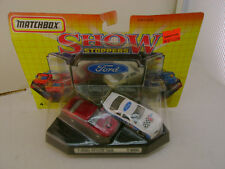 1992 MATCHBOX SUPERFAST SHOW STOPPERS CARS FORD T-BIRD STOCK CAR T-BIRD NEW