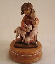 Anri Italy Vtg Music Box Braham's Lullaby-Sold as Non-Working