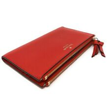 Kate Spade New York Malea Large Soft Pebbled Leather Bifold Wallet Hotchili Red