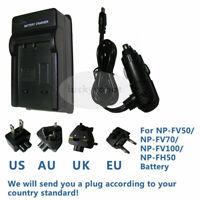 Battery Charger for SONY Cyber-shot DSC-HX1 DSC-HX100V DSC-HX200V Digital Camera