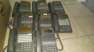 Iwatsu Adix IX-12KTD-2 Gray 104200 12 Button Display Speaker Phone