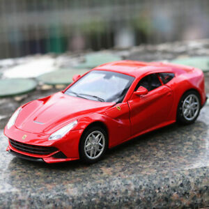 Ferrari F12 Berlinetta 1:32 Diecast Model Car Toy Sound&Light Pullback Power