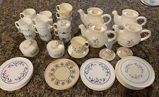 Vintage Chilton Plastic Tea Set Toy Dishes Assorted Lot