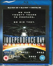 Independence Day - Resurgence - 3D + Blu Ray + Digital HD - Brand New