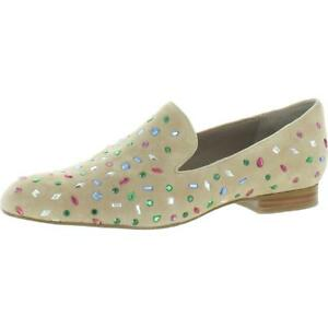 Donald J. Pliner Womens Lanasp Suede Slip On Casual Loafers Shoes BHFO 4737