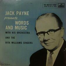 "Jack Payne(7"" Vinyl P/S)Words And Music-HMV-7EG 8441-UK-VG/VG"