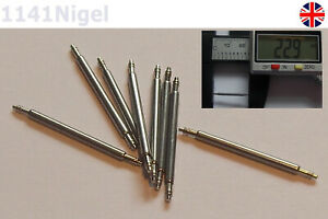 20mm Watch Band Spring Bars Strap Link Pins Repair Watchmaker   -
