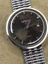 Doxa Jubile 75 Self Winding With NSA Bracelet Vintage Steel Watch