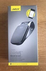 JABRA DRIVE - Hands-Free Wireless Bluetooth Speakerphone - Black