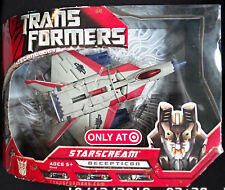 2007 Hasbro Transformers Movie Target Exclusive Voyager Starscream G1 Color NY
