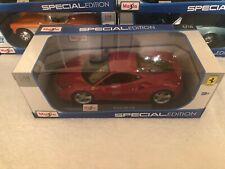 Maisto 1:18 Scale Special Edition Diecast Model Car - Ferrari 488 GTB (Red)