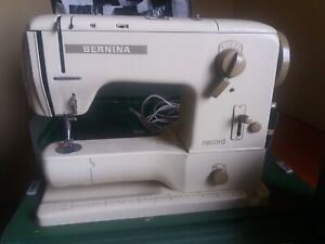 Bernina Record 730 Sewing Machine ONLY SHIPPING TO EUROPE!