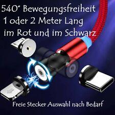 Ladekabel 540 Grad 3 in 1 Magnet Magnetisch IPhone Micro Type C USB C 1m / 2m