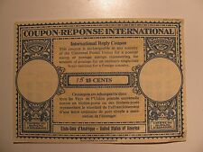 US Coupon-Reponse International 15c United States of America w/ French MNH