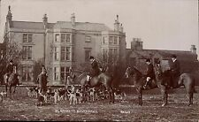Southwell photo. The Rufford Hounds by H.Barrett, Southwell.