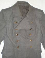 Vintage Russia Soviet Uniform Army Winter Coat Military Woolen Overcoat Rare Old