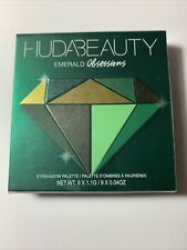 HUDA BEAUTY EMERALD Obsessions Eyeshadow Palette ~ FULL SIZE ~ NEW IN PACKAGING!