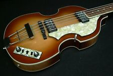 NEW Hofner HCT-500/1 CONTEMPORARY BEATLE BASS VINTAGE LOOK & Flat Wound Strings