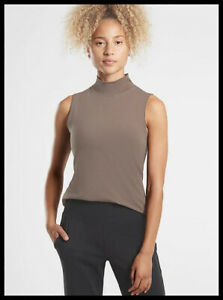 Athleta NWT Women's Outbound Tank Size Small Color Coffee House