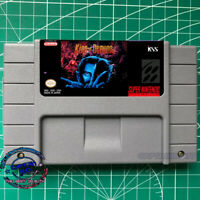 King of Demons (English Patched) Majyūō SNES Video Game USA version