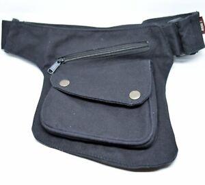 Pocket Waist Bag for Men-Bikers Travel Belt-Marsupio Uomo-Unisex Festival Belt