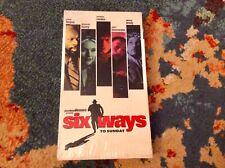 SIX WAYS TO SUNDAY VHS 1999 Norman Reedus ADRIEN BRODY Debby Harry VERY GOOD