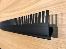 200mm Length Black PVC Aquarium Weir Comb. 3 Styles. Marine Sump Tank Refugium