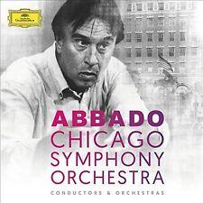 Claudio Abbado & Chicago Symphony Orchestra [New CD] Boxed Set