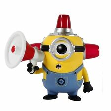 Despicable Me BEE-DO Fireman Minion Figure Megaphone Siren Head Gear Action Toy