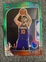 Ty Jerome 2019-20 NBA Hoops Premium Silver Green cracked ice Rookie Card🔥💵