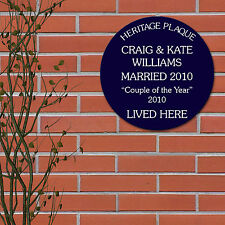 Acrylic Patternless Personalised Decorative Plaques & Signs