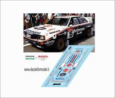 DECALS 1/43 AUDI QUATTRO ROTHMANS RALLY YPRES 1986