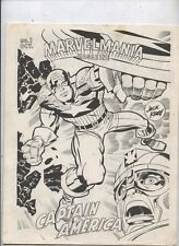 Marvelmania Magazine Special Preview Issue #1 1969 NM  Kirby Captain Americ
