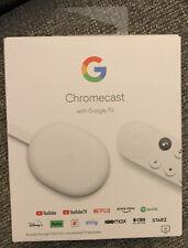 Google Chromecast with Google TV 4К Media Streamer with Google Assistant - Snow