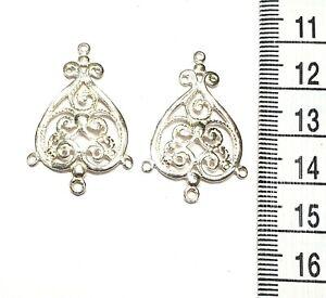 Chandelier Earring finding Sterling Silver .925