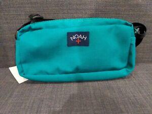 Noah Small Nylon Shoulder Bag- Green