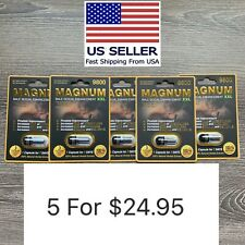 Male Enhancement Sex Pills for Rock Hard Performance and Stamina MAGNUM 9800 XXL
