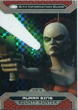 Star Wars Chrome Perspectives II X Fractor Parallel Base Card 39-S Aurra Sing