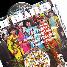 """THE BEATLES SGT PEPPERS LONELY HEARTS CLUB BAND 7"""" VINYL EP PARLOPHONE GERMANY"""