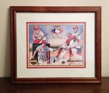 St Louis Cardinals Upper Deck Signed Autographed Litho GIBSON BROCK SCHOENDIENST