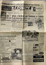 Journal l'Equipe n°1336 - 1950  - Geminiani - Schotte - Bobet - Lauredi - Blomme