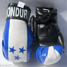 Honduras Mirror or Wall Hanging Mini Boxing Gloves 3.5x2 inches Ornaments Only!