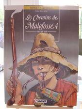 CHEMINS DE MALEFOSSE T4 EO 1987 FACE DE SUIE TTBE