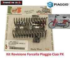 5885-KT - Kit Revisione Forcella: Molle + Perni + Tamponi per Piaggio Ciao PX