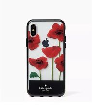 KATE SPADE Poppies Resin iPhone 7 Plus 8 Plus Snap On CASE NEW