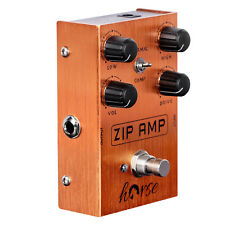 More details for electric guitar effects pedal zip amp overdrive pedal strong compression w/ gain